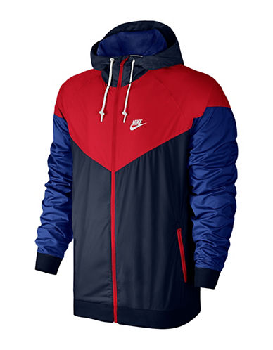Nike Windrunner Jacket-UNIVERSITY RED-Medium