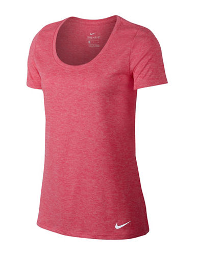 Nike Dry Training Tee-RACER PINK-Medium