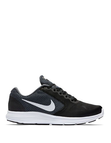 Nike Revolution 3 Running Shoes-BLACK/GREY-9 88528331_BLACK/GREY_9