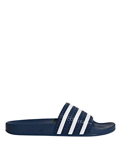 Adidas Originals Adilette Sandals-BLUE-8