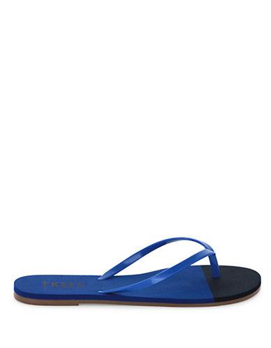 Tkees Beach Elagoon Flip-Flops-BLUE-6