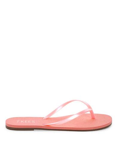 Tkees Pretty Pearl Flip-Flops-PINK-8