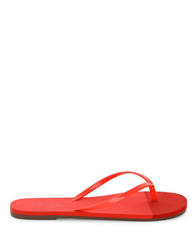 Tkees Ruby Reef Flip-Flops-RED-9