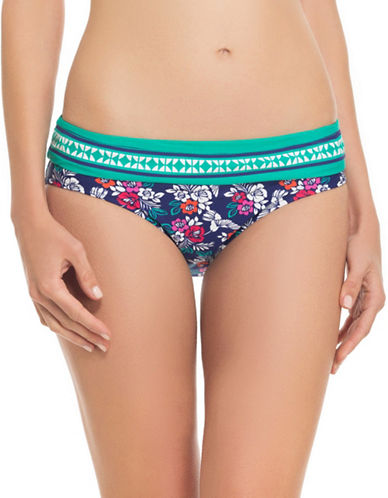 Blush By Gottex Hummingbird Swim Bikini Bottoms-MULTI-X-Large plus size,  plus size fashion plus size appare