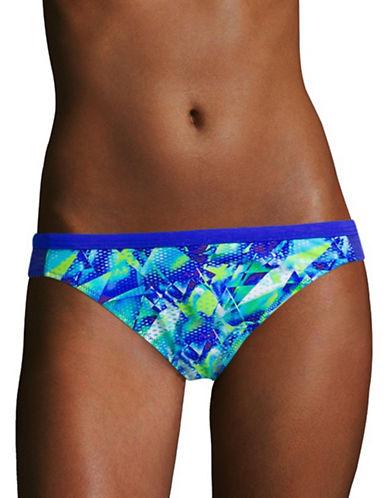 Profile By Gottex Pacific Blue Classic Swim Bottom-MULTI BLUE-36