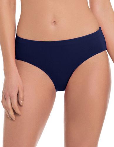 Profile By Gottex Classic Bikini Bottom-NAVY-10