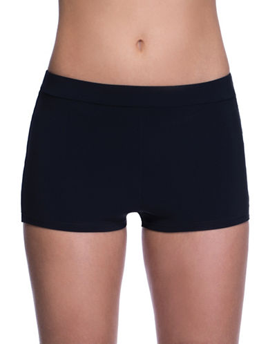 Profile By Gottex Classic Boy Shorts-BLACK-6