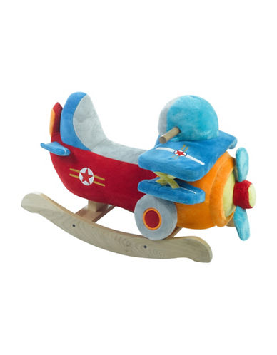 Rockabye Airplane Rocker-MULTI-One Size