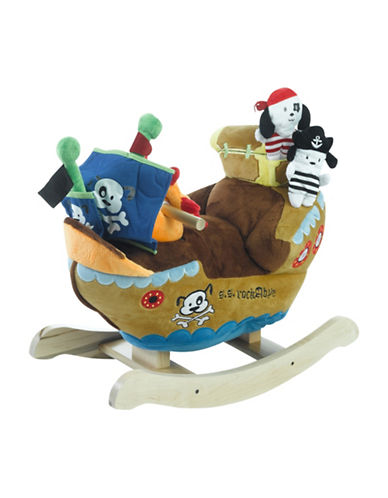 Rockabye Ahoy Doggie Pirate Ship-MULTI-One Size