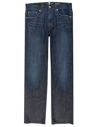 7 For All Mankind Austyn Jeans in Los Angeles Dark Core-BLUE-33