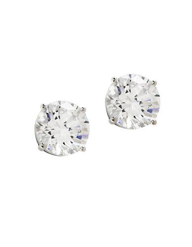 Nadri 4ct Cubic Zirconia Stud Earring-SILVER-One Size