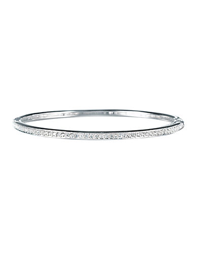 Nadri Channel Set Hinged Bangle-SILVER-One Size