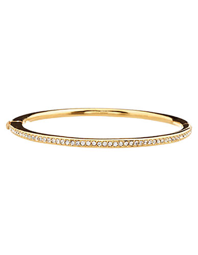 Nadri Gold Channel set Hinged Bangle-GOLD-One Size
