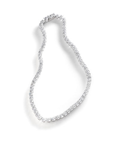 Nadri Cubic Zirconia All Around Necklace-CRYSTAL-One Size