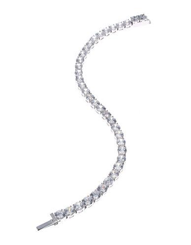 Nadri Classic Tennis Bracelet-SILVER-One Size