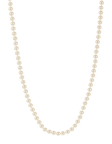 Nadri Simulated Pearl Strand Necklace-PEARL-One Size