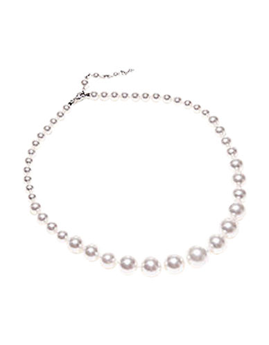 Nadri 16 inch Graduated Pearl Necklace-PEARL-One Size