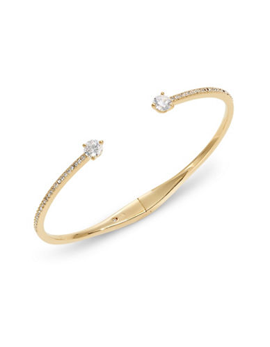 Nadri Open Cuff Pave Bracelet-GOLD-One Size