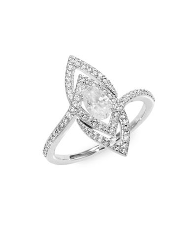 Nadri Cut-Out Pave Ring-SILVER-7
