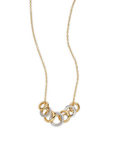 Nadri Spindle Pendant Necklace-GOLD-One Size