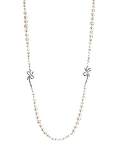 Nadri 10MM White Pearl Marion Y Necklace-WHITE-One Size