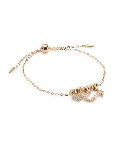Nadri Fortune Charm Bracelet-GOLD-One Size