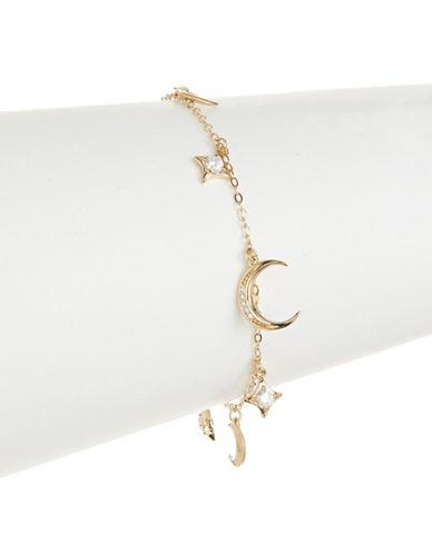 Nadri Lunar Charm Bracelet-GOLD-One Size