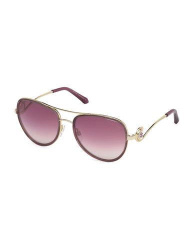 Roberto Cavalli RC1013W5881Z 58MM Aviator Sunglasses-PURPLE-One Size