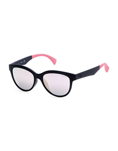 Guess 53mm Cat-Eye Sunglasses-BLACK-One Size