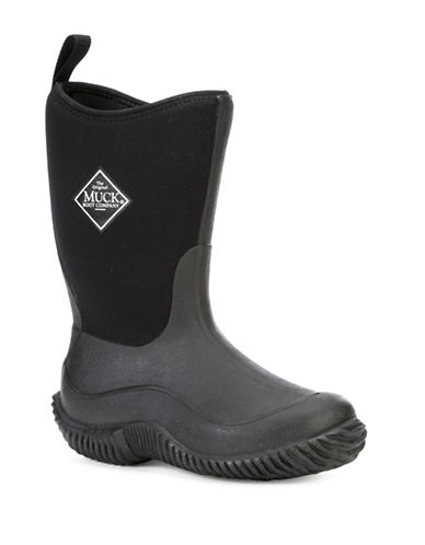 Muck Boots Hale Solid Boots-BLACK-11