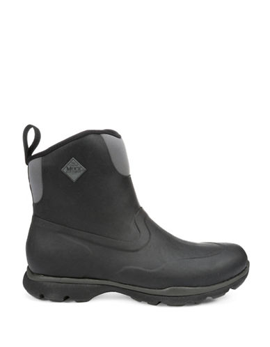 Muck Boots Excursion Pro Mid Outdoor Shoes-BLACK/CHARCOAL-8