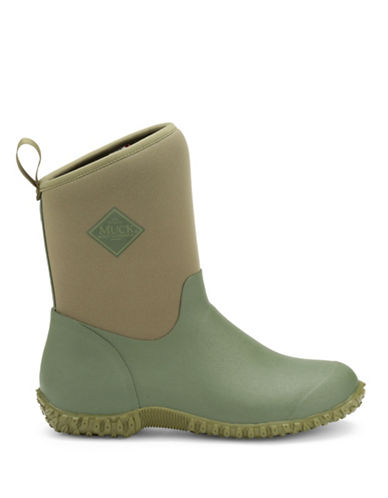 Muck Boots Marsh Muckster II Mid Rain Boots-GREEN-7