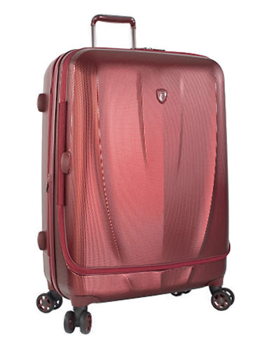 Heys Vantage Smart Access Luggage 30-Inch Suitcase-BURGUNDY-30