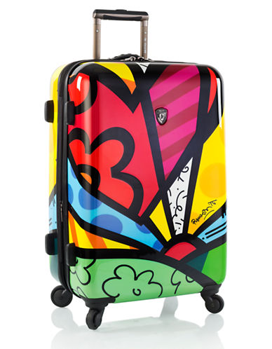 Heys Britto 26 Inch Suitcase-YELLOW-26 in