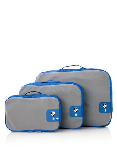 Heys Pack ID 3 pc Packing Cube Set-BLUE-One Size