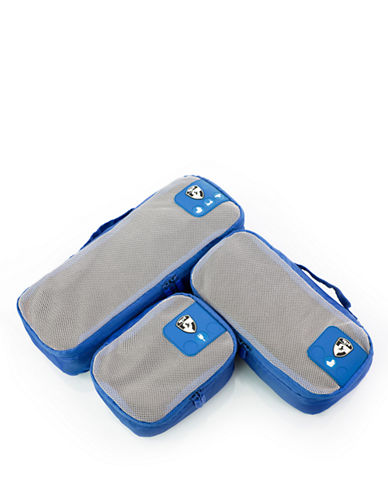 Heys Pack ID 3 pc Slim Packing Cube Set   3 size-BLUE-One Size