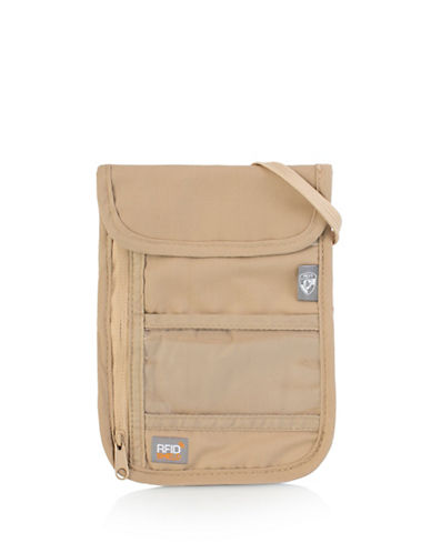 Heys RFID-Blocking Neck Wallet-BEIGE-One Size