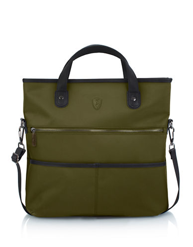 Heys HiLite Foldover Tote-OLIVE-One Size