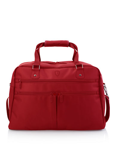 Heys HiLite Multi-Zip Boarding Duffle-RED-One Size