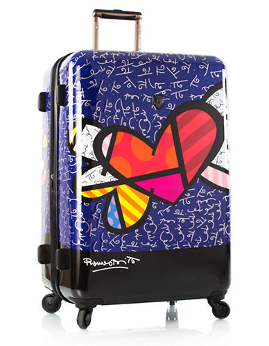 Heys Hearts 30-Inch Expandable Spinner Suitcase-MULTI-One Size