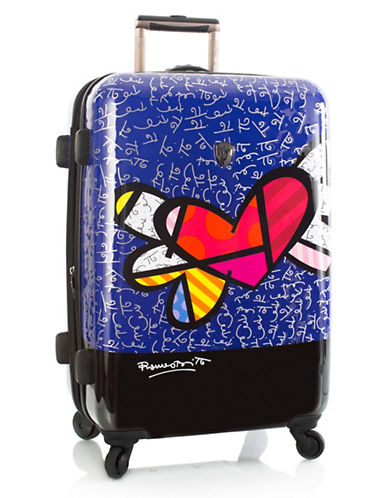 Heys Hearts 26-Inch Expandable Spinner Suitcase-MULTI-One Size