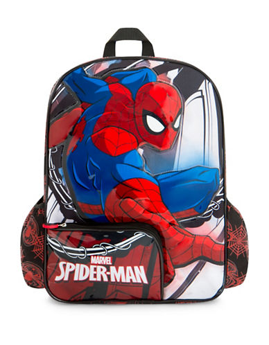 Heys Marvel Spiderman Backpack-RED-One Size