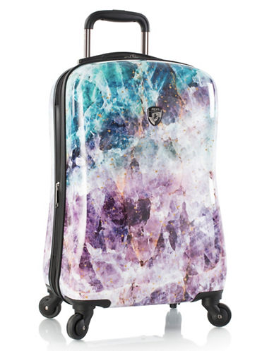 Heys Quartz 21-Inch Spinner Suitcase-MULTI-One Size