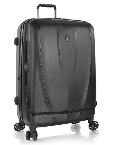 Heys Vantage SmartLuggage 30-Inch Suitcase-BLACK-One Size