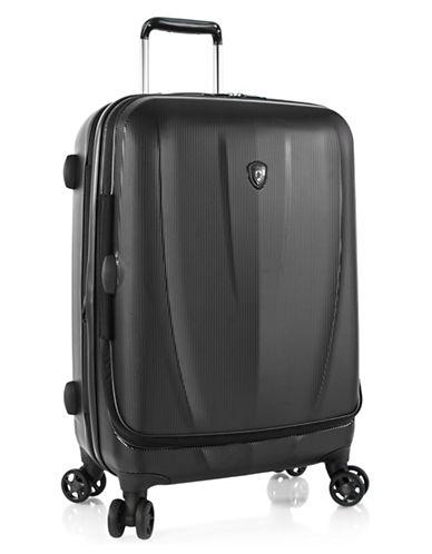 Heys Vantage SmartLuggage 26-Inch Suitcase-BLACK-One Size