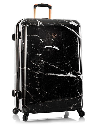 Heys Marquina 20.5-Inch Marble Fashion Spinner-BLACK-30