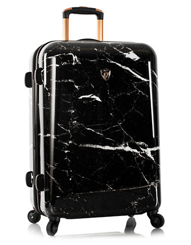 Heys Marquina 18-Inch Marble Fashion Spinner-BLACK-27
