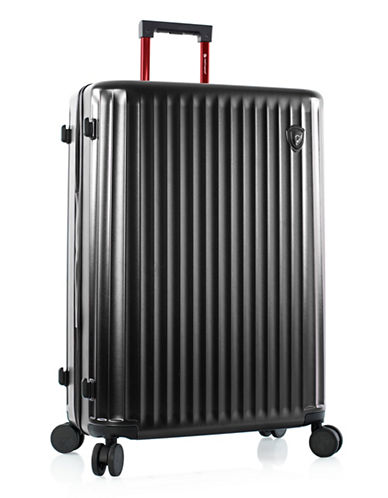 Heys Smart Luggage 30-Inch Suitcase-BLACK-30
