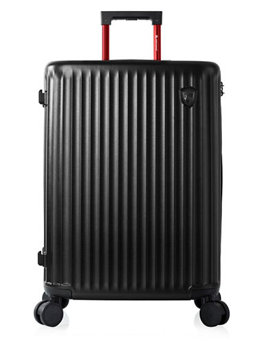 Heys Smart Luggage 26-Inch Suitcase-BLACK-26