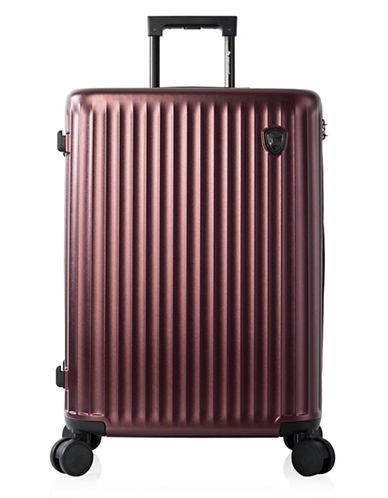 Heys Smart Luggage 26-Inch Suitcase-BURGUNDY-26